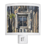 window night light, cabin decor, rustic, shack,