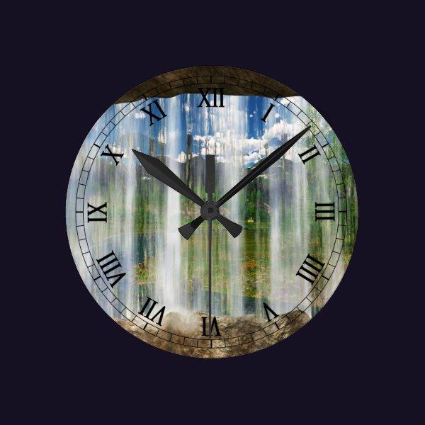 Window on the Cwm Clock