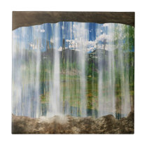 Window on the Cwm Decorative Tile / Trivet