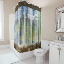 Window on the Cwm Shower Curtain