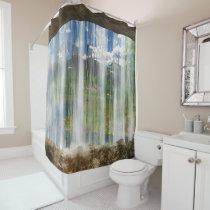 Window on the Cwm Shower Curtain