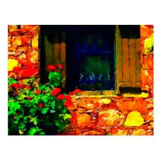 Window Onto Greece Post Card