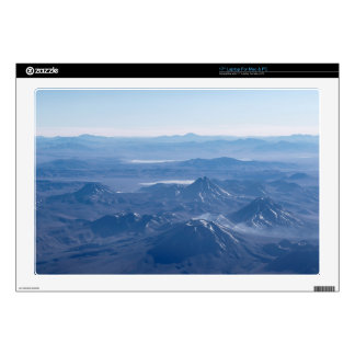 Window Plane View of Andes Mountains Decal For Laptop