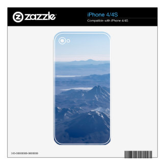Window Plane View of Andes Mountains Decals For The iPhone 4