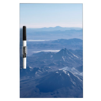 Window Plane View of Andes Mountains Dry-Erase Board