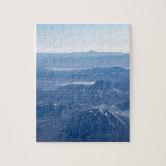 Window Plane View of Andes Mountains Jigsaw Puzzle