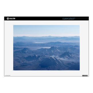Window Plane View of Andes Mountains Laptop Skins