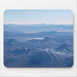 Window Plane View of Andes Mountains Mouse Pad