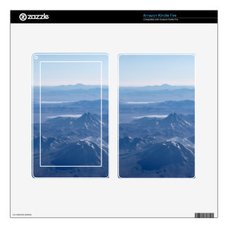Window Plane View of Andes Mountains Skin For Kindle Fire