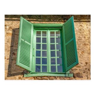 Window postcard