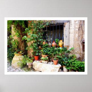 Window Pots Poster