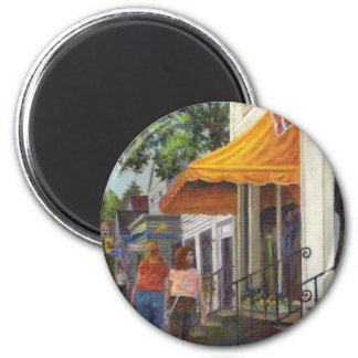Window Shopping 2 Inch Round Magnet