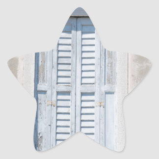 Window Star Sticker