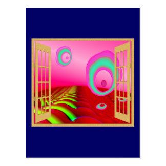 Window to an Alien World Postcard