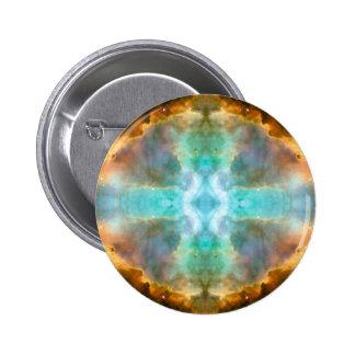 Window to Heaven Space Art Pins