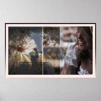 Window to my Heart Romantic Love Poster Art