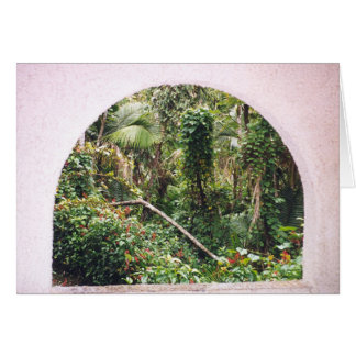 Window to Paradise Card