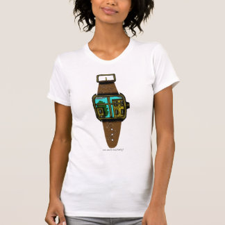 Window to the world watch abstract graphic shirt