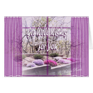 Window View get well card