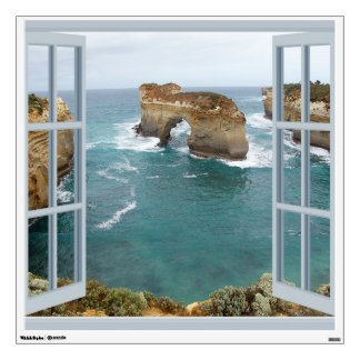 Window View Ocean Wall Decal
