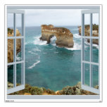 Window View Ocean Wall Decal