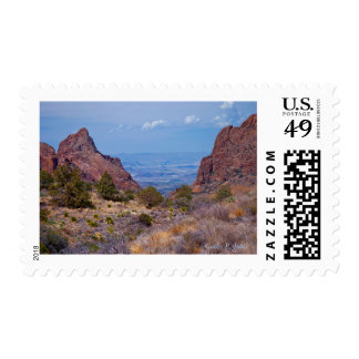 Window View Postage Stamp