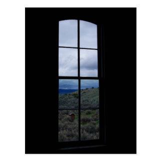 Window View Postcard