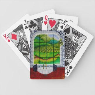 window - vineyard playing cards