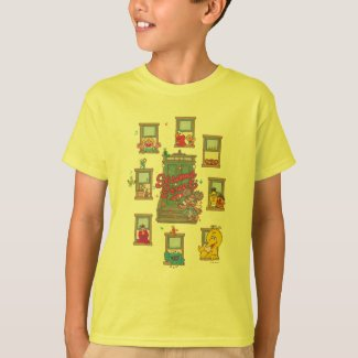 Window Vintage Art T-Shirt