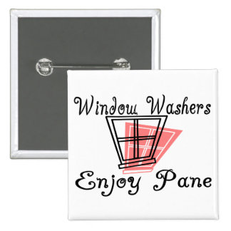 Window Washers 2 Inch Square Button