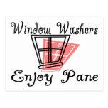 Window Washers Post Card