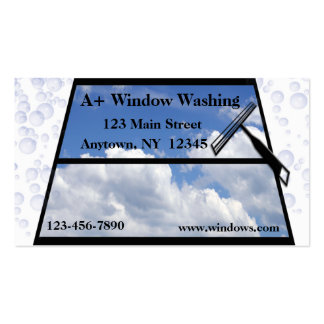 Window cleaning business cards templates zazzle for Window cleaning business cards
