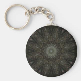 Window Web Basic Round Button Keychain