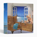 Window with Beach Binder