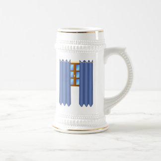 Window with Drapes Mug