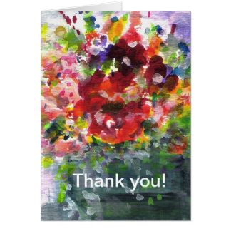 Windowbox full of summer flowers stationery note card