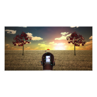 Windowed Mind Photo Card Template
