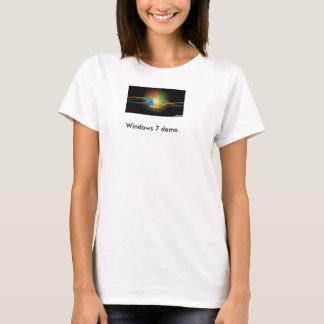 Windows 7 demo T-shirt
