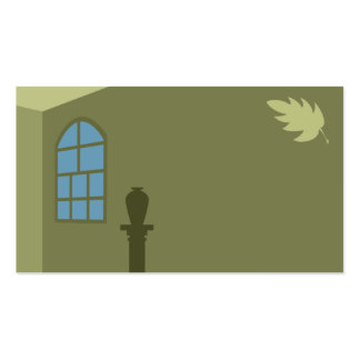 Windows and Leaves Business Card