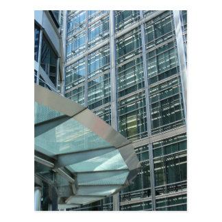 Windows at Canary Wharf, London Postcard