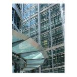 Windows at Canary Wharf, London Postcards