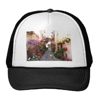 Windows, balcony and flower alleys trucker hat