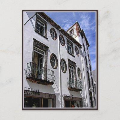 Windows & Balcony : Funchal, Portugal postcard