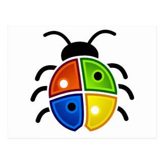 Windows_Bug Postcard