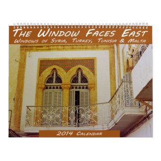 Windows Calendar - Syria, Turkey, Tunesia, Malta