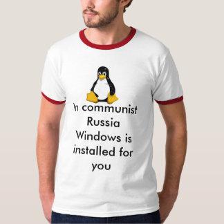 windows = communism T-Shirt