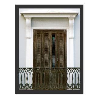 Windows de San Juan viejo, Puerto Rico Postal