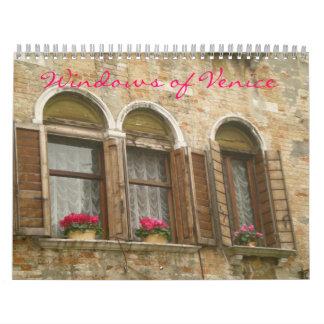 Windows del calendario de Venecia