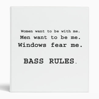 Windows Fear me Male Bass player version Binder
