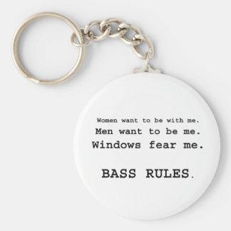 Windows Fear me Male Bass player version Key Chain